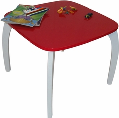 RiverRidge Kids Red Bow Leg Table
