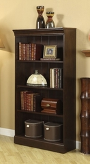 "Riverside American Crossings 60"" Bookcase with 4 Shelves - Riverside Furniture - 69128"