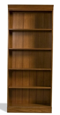 Riverside American Crossings Oak 72 Inch Bookcase - Riverside Furniture - 69229