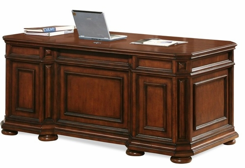 Riverside Cantata Cherry Executive Desk - Riverside Furniture - 4932