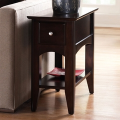 Riverside Cosmopolitan Espresso Side Table - Riverside Furniture - 51110