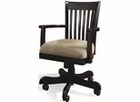 Riverside Crossings Espresso Banker's Desk Chair - Riverside Furniture - 69127