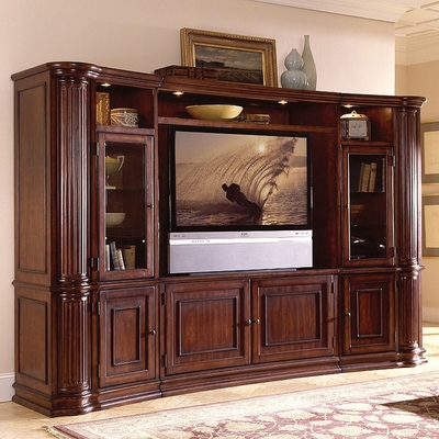 Riverside Furniture Ambiance 60 Inch Entertainment Wall System - Riverside Furniture - AMB60PCWALLSYS