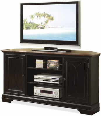 Riverside Furniture Anelli Corner Entertainment Center - Riverside Furniture - 5538
