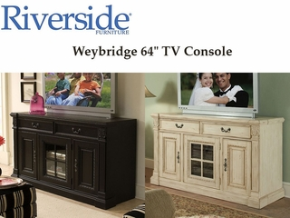 Riverside Furniture Weybridge 64 Inch Entertainment Center - Riverside Furniture - WEY64TVCON