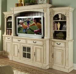 Riverside Furniture Weybridge 64 Inch Entertainment Center - Riverside Furniture - WEY64WALLSYS
