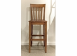 Riverside Harmony Slat Back Bar Stool - Set of Two - Riverside Furniture - 28037