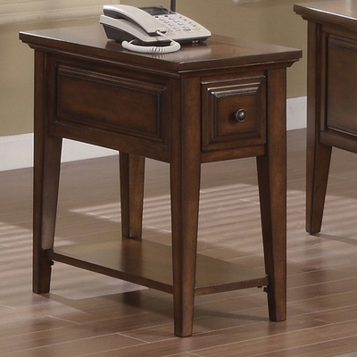 Riverside Hilborne Cherry Side Table - Riverside Furniture - 92010