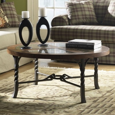 Riverside Medley Round Cocktail Table - Riverside Furniture - 45005