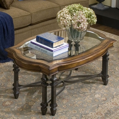 Riverside Octavia Rectangular Cocktail Table - Riverside Furniture - 3002