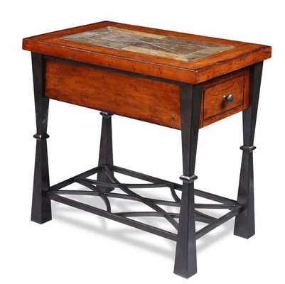 Riverside Santos Worn Adler Side Table - Riverside Furniture - 9409