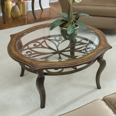 Riverside Serena Round Cocktail Table - Riverside Furniture - 72005