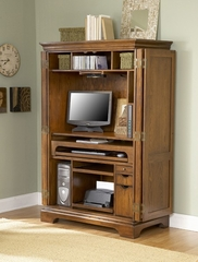 Riverside Seville Computer Armoire Cabinet - Riverside Furniture - 8985