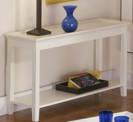 Riverside Splash Of Color White Tray Top Foyer Table - Riverside Furniture - 1214S