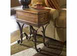 Riverside Stone Forge Side Table - Riverside Furniture - 31010