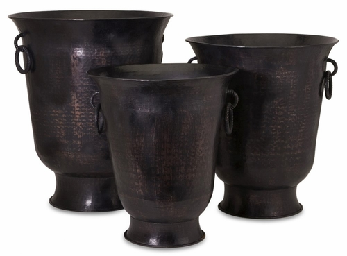 Robert's Planters (Set of 3) - IMAX - 60665-3