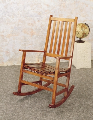 Rocker in Oak - Coaster