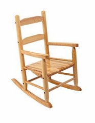Rocking Chair for Kids - 2-Slat Rocking Chair in Natural - KidKraft Furniture - 18121