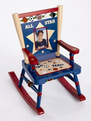 Rocking Chair for Kids - All Star Sports Mini Rocker - RAB10009