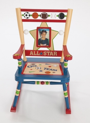 Rocking Chair for Kids - All Star Sports Rocker - RAB00032