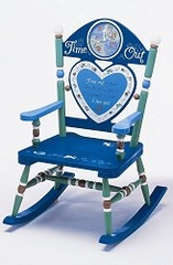 Rocking Chair for Kids - Boy Time Out Rocker - RAB00002