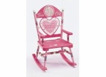 Rocking Chair for Kids - Girl Time Out Rocker - RAB00001