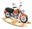 Rocking Chair for Kids - Harley Davidson Roaring Softail Rocker - KidKraft Furniture - 10011