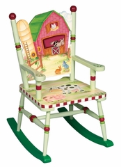 Rocking Chair for Kids - Little Farm House Rocking Chair - Guidecraft - G83561