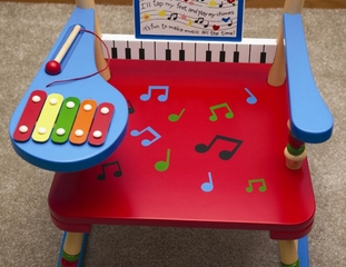 Rocking Chair for Kids - Musical Rocker - RAB00031