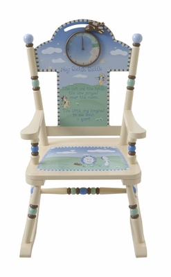 Rocking Chair for Kids - Nursery Rhyme Rocker - RAB00055