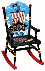 Rocking Chair for Kids - Pirate Rocking Chair - Guidecraft - G83408