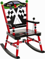 Rocking Chair for Kids - Race Car Rocker - RAB00028