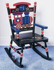 Rocking Chair for Kids - Railroad Rocker - RAB00023
