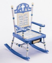 Rocking Chair for Kids - Rock of Ages Bible Rocker -RAB00022