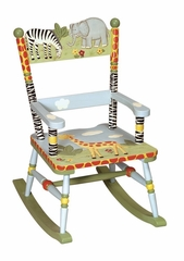 Rocking Chair for Kids - Rocker - Safari - Guidecraft - G83201