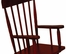 Rocking Chair for Kids - Spindle Rocking Chair in Cherry - KidKraft Furniture - 18331