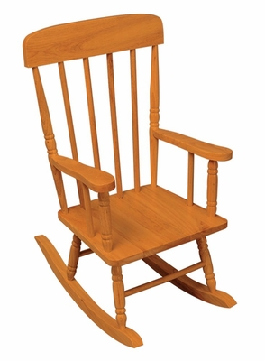 Rocking Chair for Kids - Spindle Rocking Chair in Honey - KidKraft Furniture - 18341