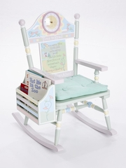 Rocking Chair for Kids - Time To Read Rocker - RAB00034