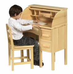 Roll Top Desk - Natural - Guidecraft - G97300