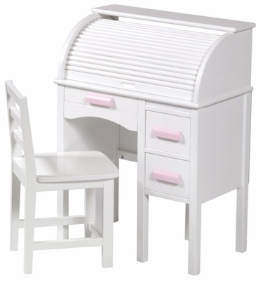 Roll Top Desk - White - Guidecraft - G97301
