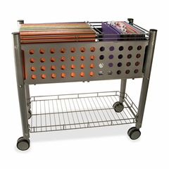 Rolling File Cart - Matte Gray - VRTVF52000