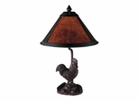 Rooster Mica Table Lamp - Dale Tiffany