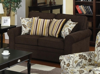 Rosalie Loveseat with Accent Pillows - 504242