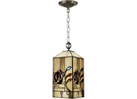 Rose Boudoir Mack Mini Pendant Lamp - Dale Tiffany