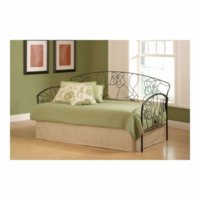 Rose Daybed in Aged Steel Finish - Hillsdale
