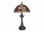 Rose Garden Tiffany Table Lamp - Dale Tiffany