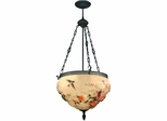 Rose Hummingbird Fixture - Dale Tiffany