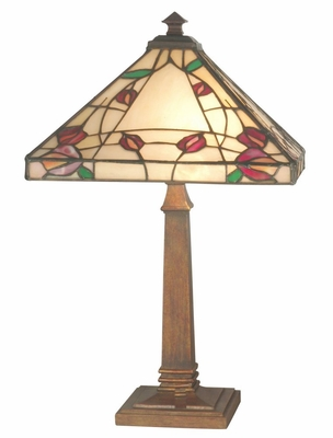Rose Mission Table Lamp - Dale Tiffany - TT70738
