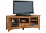 Rose Valley Entertainment Credenza Abbey Oak - Sauder Furniture - 404867