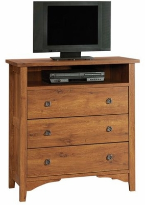 Rose Valley Highboy TV Stand Abbey Oak - Sauder Furniture - 404872